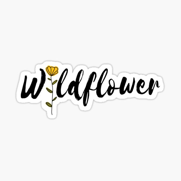 Wildflower 5sos Sticker