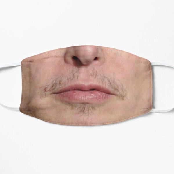 Funny Elon Musk Face mask Flat Mask
