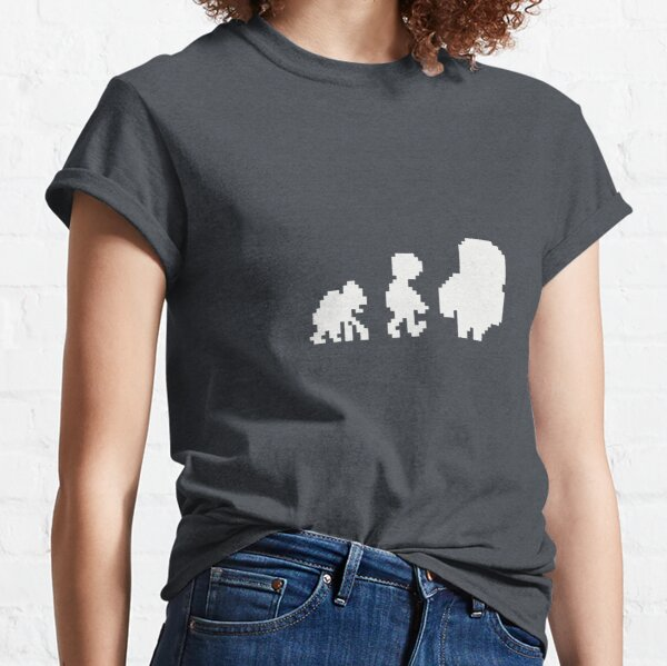 Manyland Evolution by Rose Classic T-Shirt