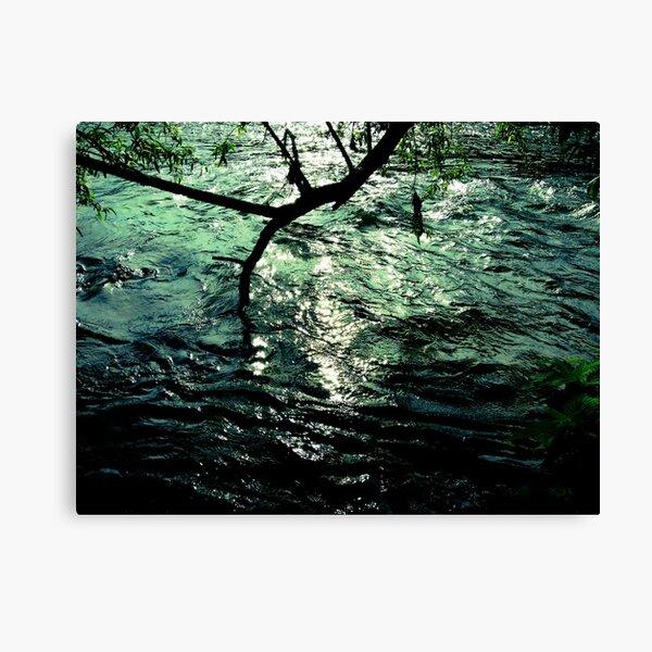 alzette river 14 Canvas Print