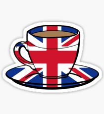 1 MILLION % British Sticker