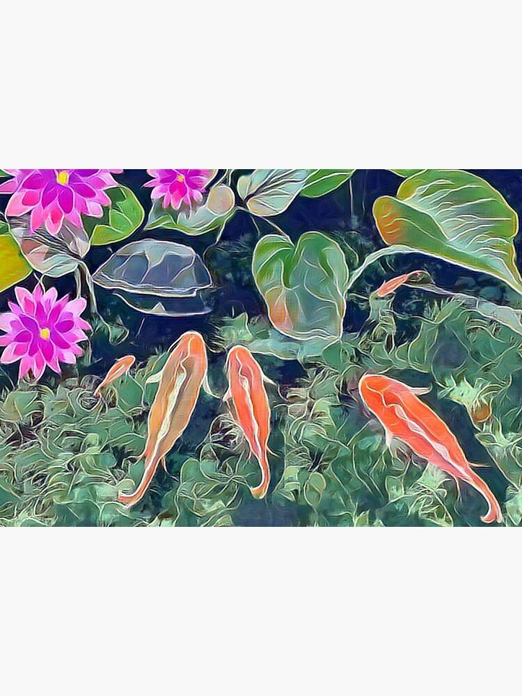 Koi Pond by Gerryjo