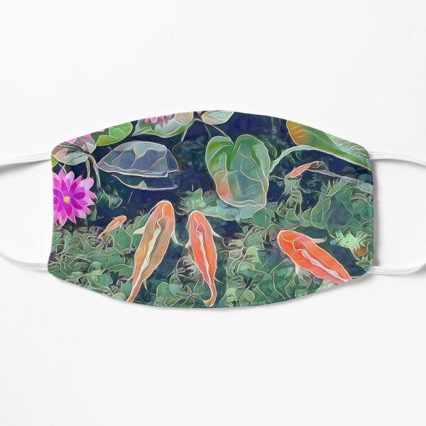 Koi Pond Flat Mask