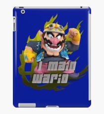 I MAIN WARIO iPad Case/Skin