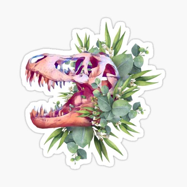 T. Rex Plants Sticker