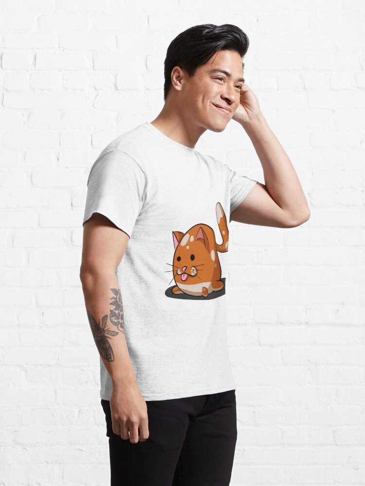 Alternate view of Chonky cat Classic T-Shirt