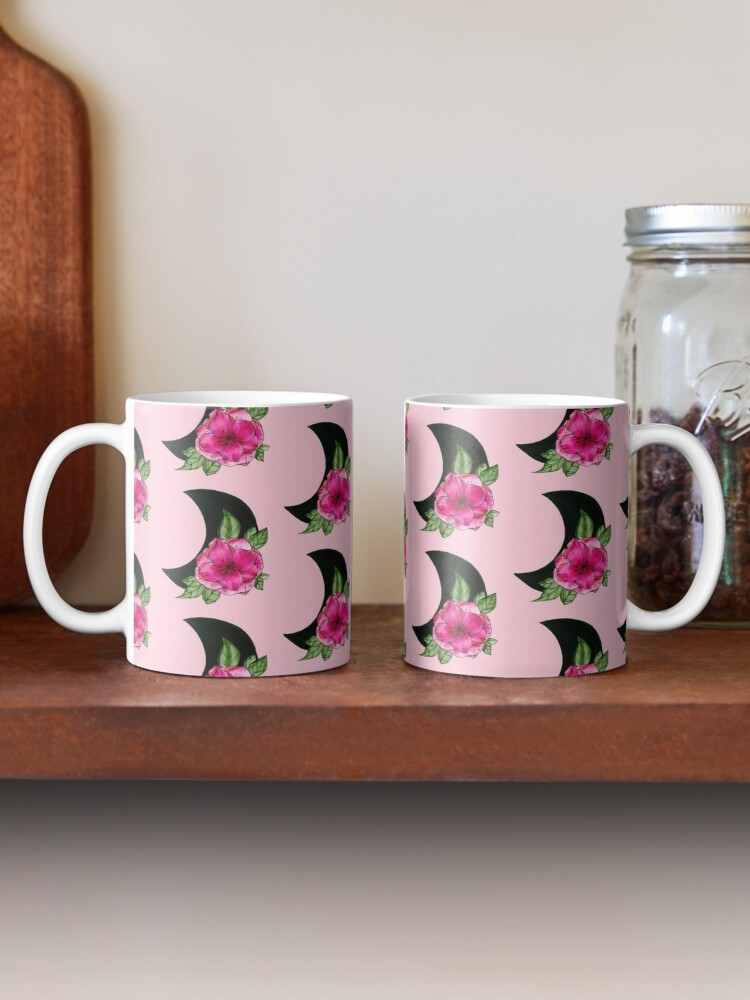 Alternate view of Moon Flower  Mug