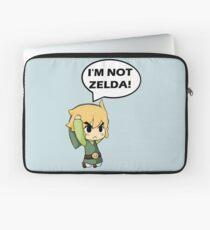 I'm Not Zelda Laptop Sleeve