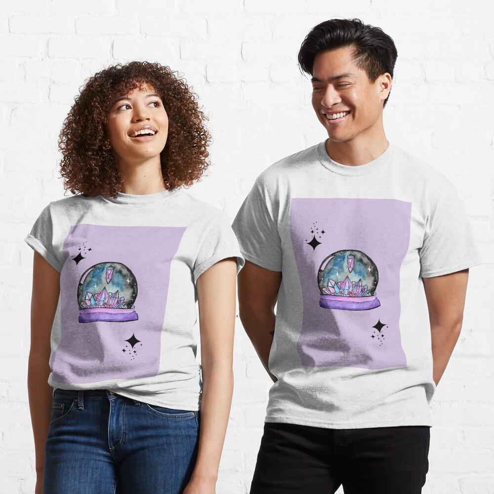 purple crystal ball watercolour art Classic T-Shirt