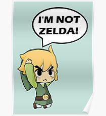 I'm Not Zelda Poster