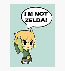 I'm Not Zelda Photographic Print