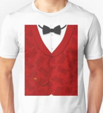 Victoriana - Bow Tie, Waistcoat and Watch T-Shirt