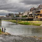 Kamo River by Sue  Cullumber