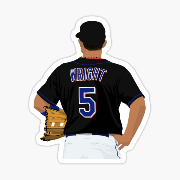 David Wright 5 Sticker