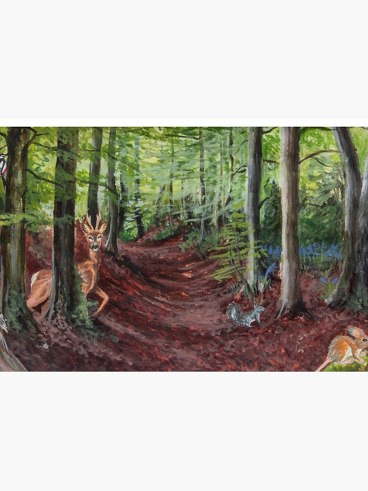Woodland Animal Illustration by DawnsArt92