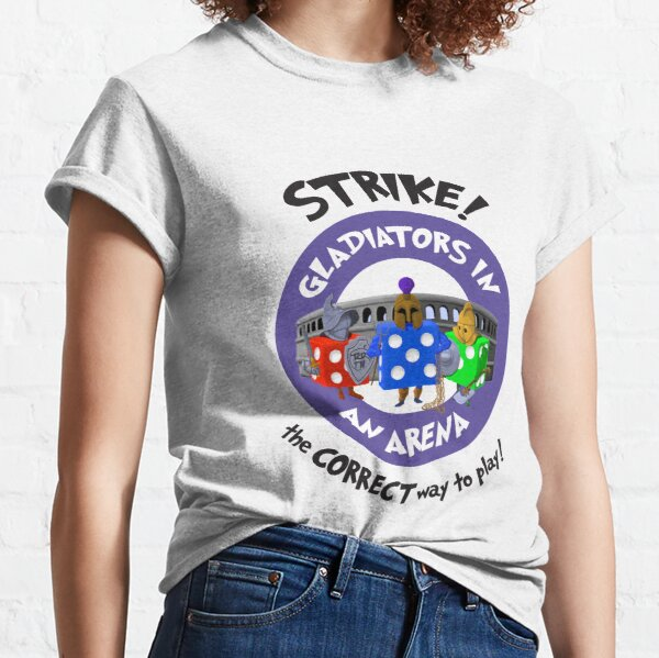 Strike! Gladiators in an Arena Classic T-Shirt