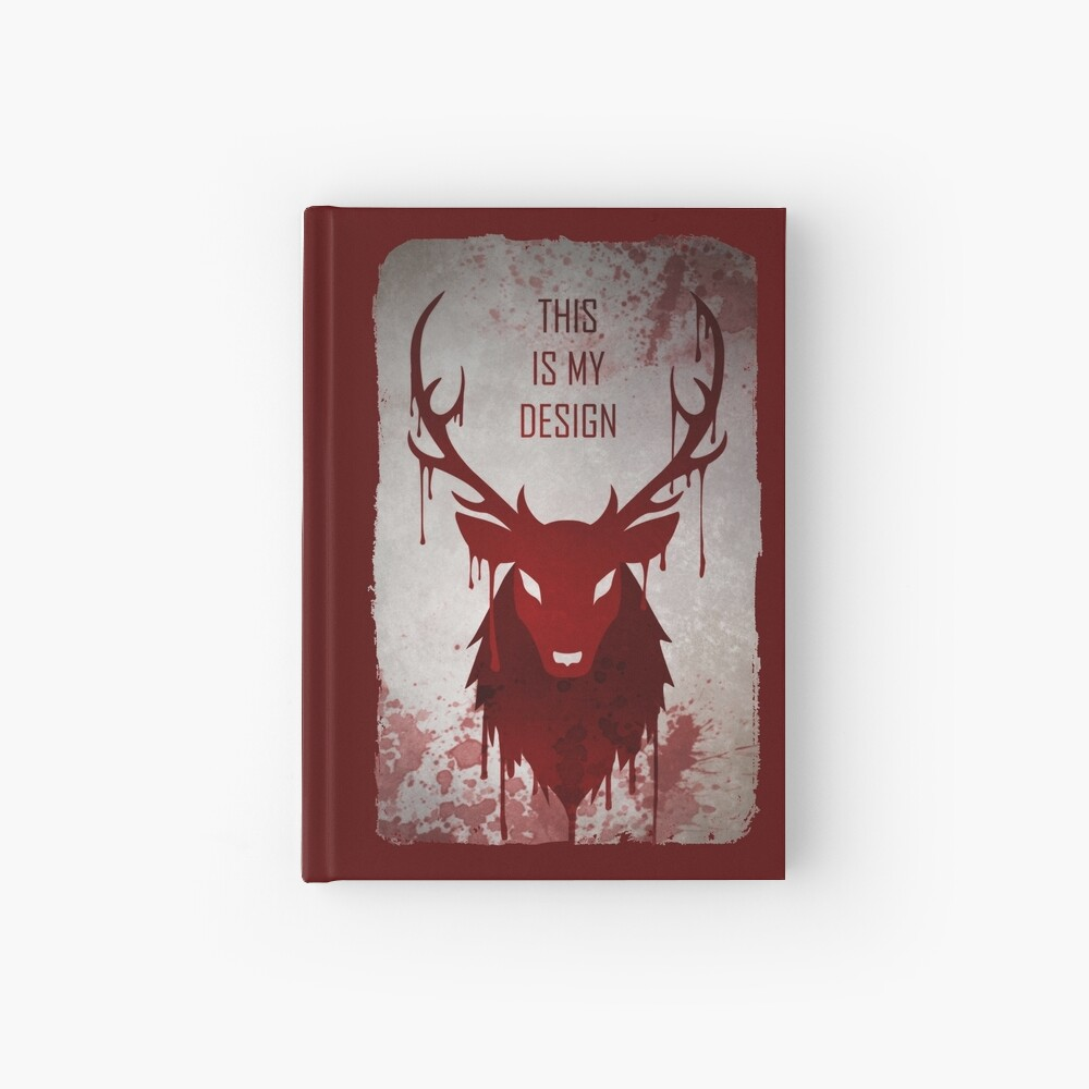 Hannibal: This Is My Design Hardcover Journal
