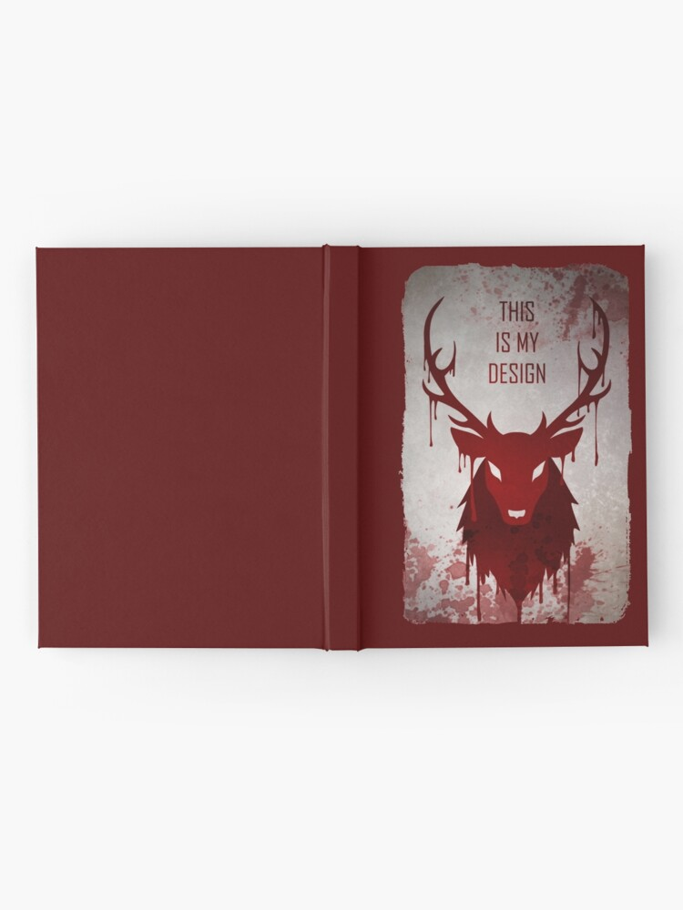 Alternate view of Hannibal: This Is My Design Hardcover Journal