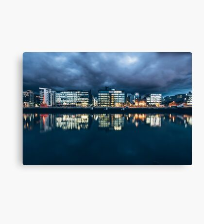 Dublin Docklands, Ireland Canvas Print