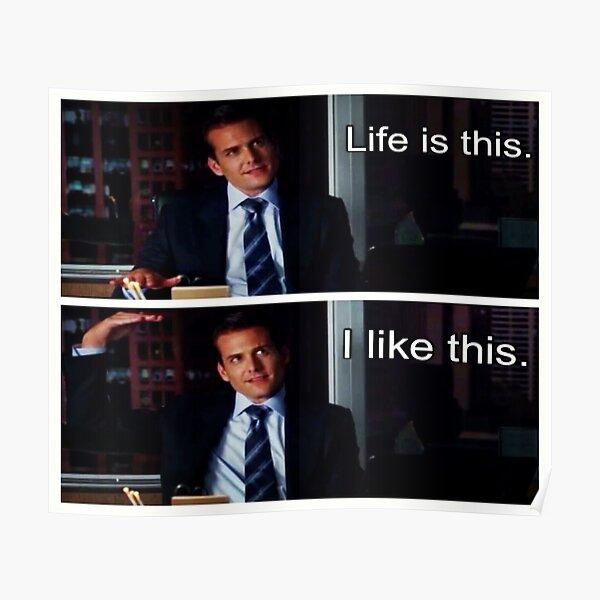 Harvey Specter Poster