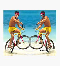 Wiggins and Froome - Team GB Photographic Print