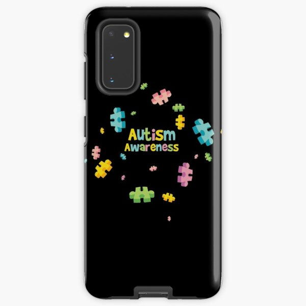 Autism Awareness - Puzzle Pieces Samsung Galaxy Tough Case