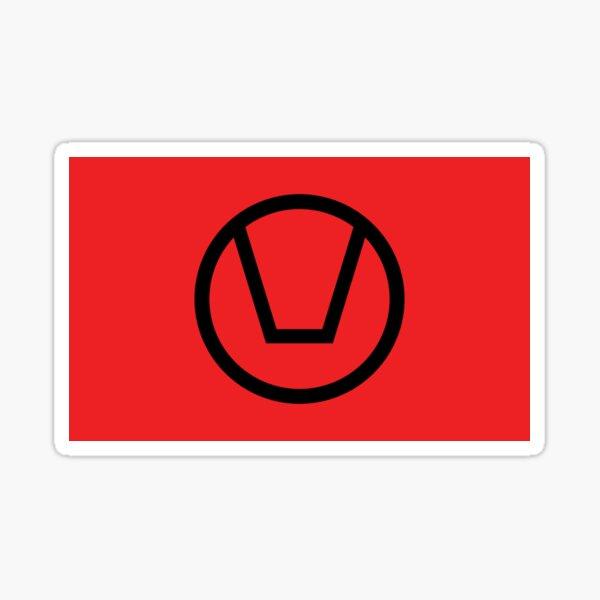 """Official Swinger flag """"The swing"""" Sticker"""