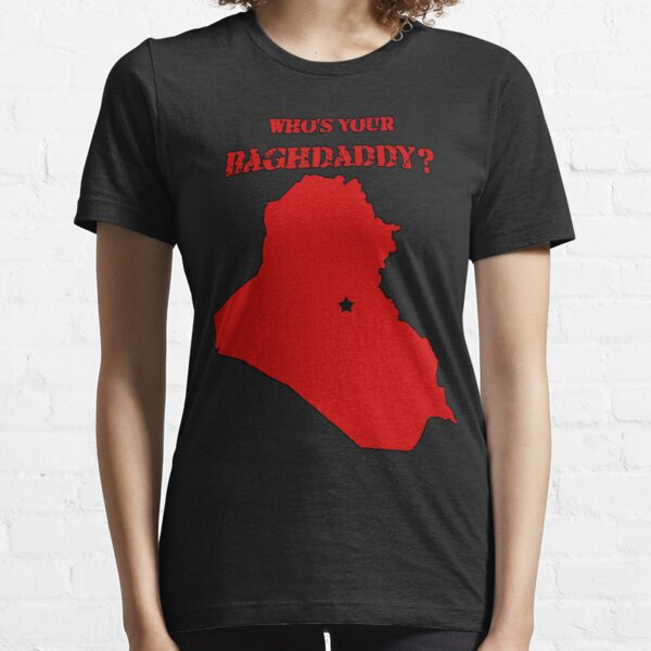 Who's Your Bagdaddy? (Red) Essential T-Shirt