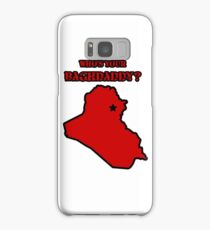 Who's Your Bagdaddy? (Red) Samsung Galaxy Case/Skin