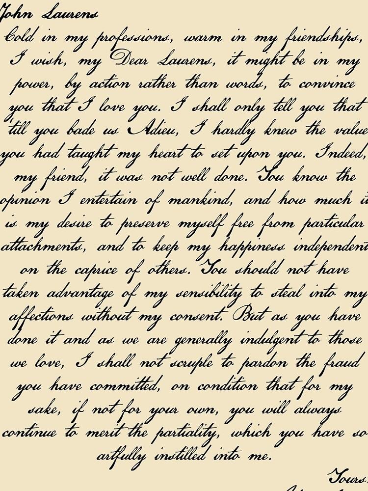 Alex & John Letter by colcas