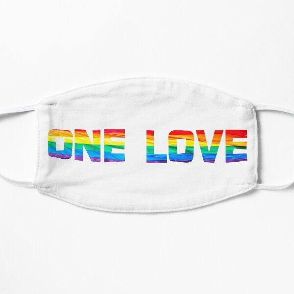 One love Flat Mask