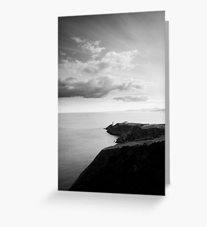Howth's Lighthouse Greeting Card