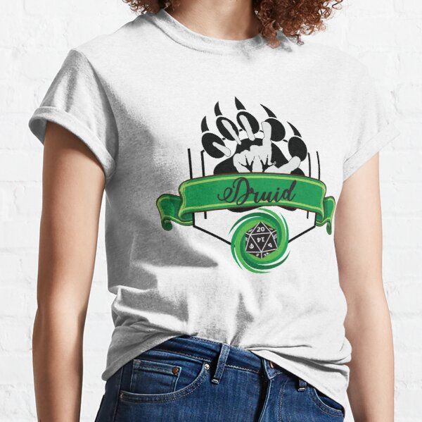 Druid Class Green Classic T-Shirt
