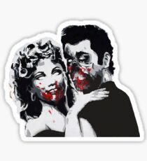 Grease Zombies  Sticker