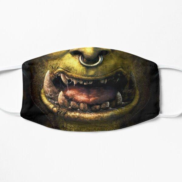 Ork Krieger Mund Flache Maske