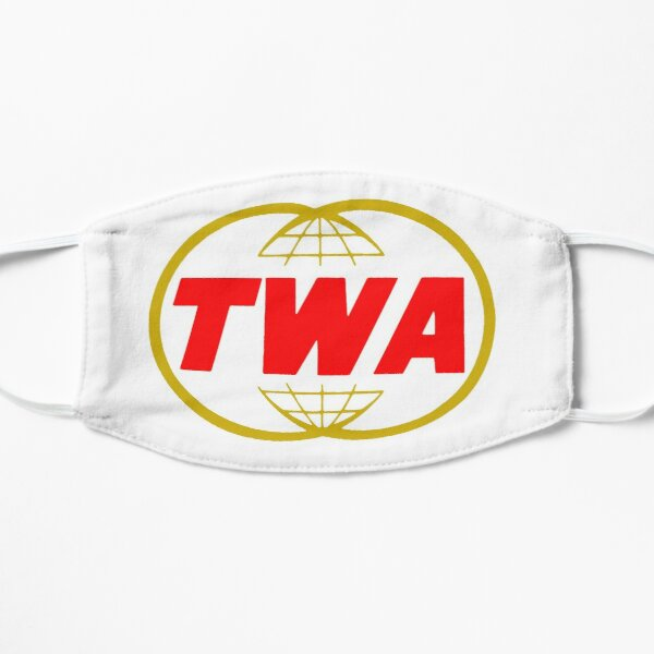 TWA airlines Mask