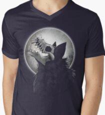 Skull Wolf Howl T-Shirt