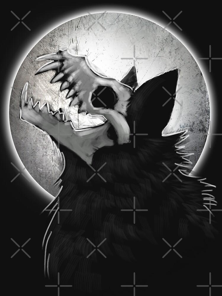 Cráneo Wolf Howl de digimitsu