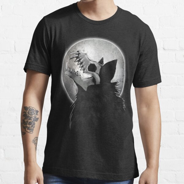 Skull Wolf Howl Essential T-Shirt