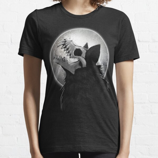Skull Wolf Howl Essential T-Shirt