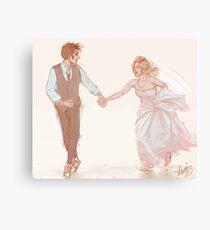 Ten/Rose Wedding Canvas Print
