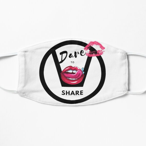 Dare To Share Swingers Flat Mask