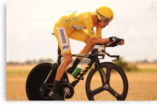 Bradley Wiggins, Tour de France Champion 2012 by Eamon Fitzpatrick