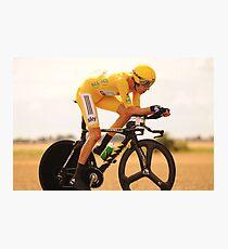 Bradley Wiggins, Tour de France Champion 2012 Photographic Print