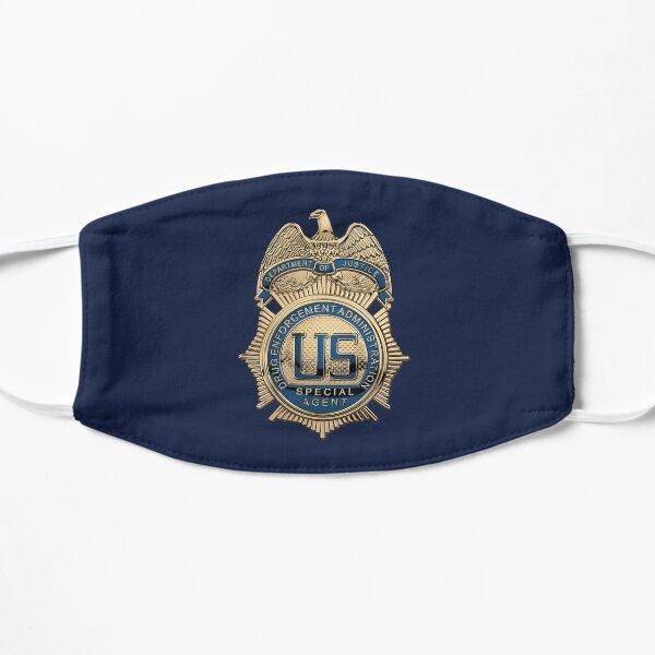Drug Enforcement Administration - DEA Special Agent Badge over Blue Velvet Mask