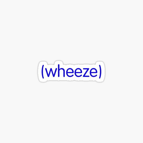 (wheeze) Buzzfeed Unsolved Sticker