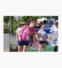 Planned Parenthood Hula Hoop Photographic Print