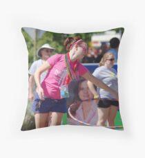 Planned Parenthood Hula Hoop Throw Pillow