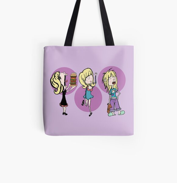 Pauline's All Over Print Tote Bag