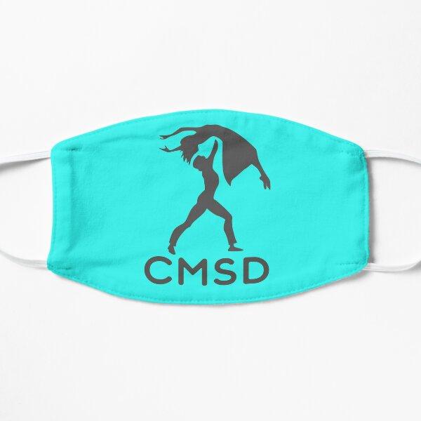 Teal Char-Mar School of Dance Simplistic Logo  Mask